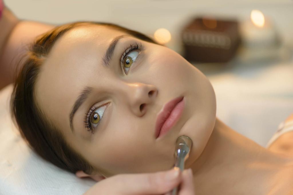 Mikrodermabrasion im Kosmetikstudio